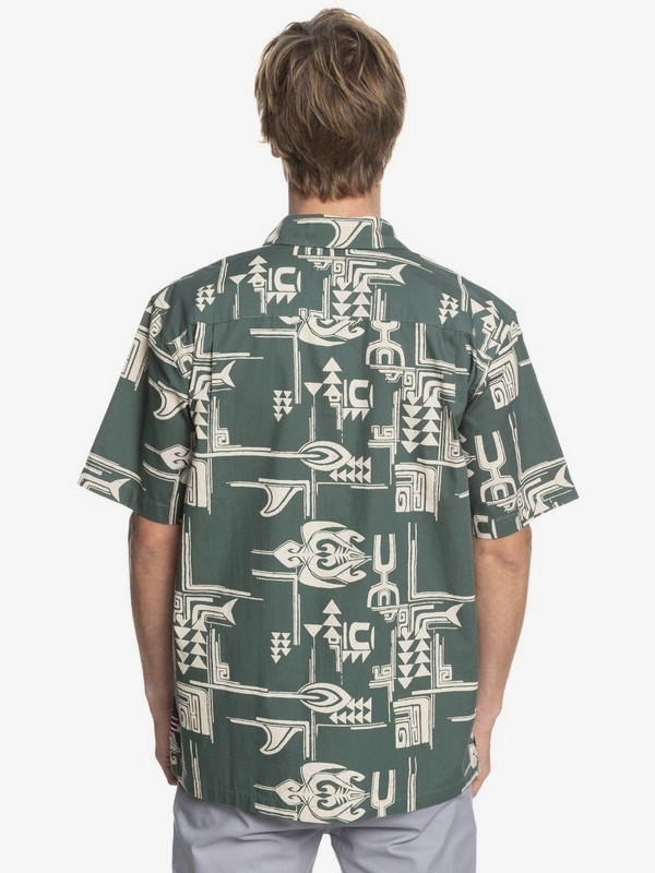 HI Dweller - Printed Short Sleeve Shirt AQYWT03201