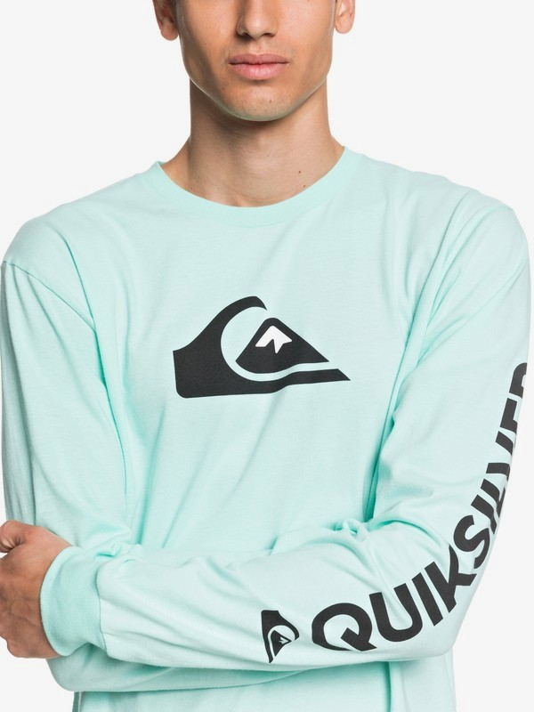 Comp Logo - Long Sleeve T-Shirt for Men  AQYZT06759