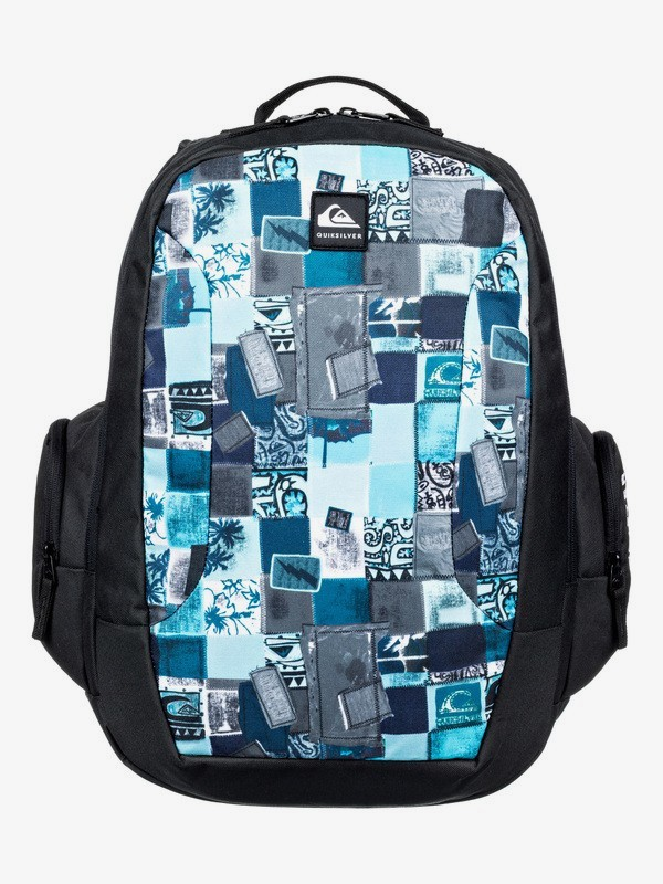 0 Schoolie 30L - Large Backpack for Kids Blue EQBBP03036 Quiksilver