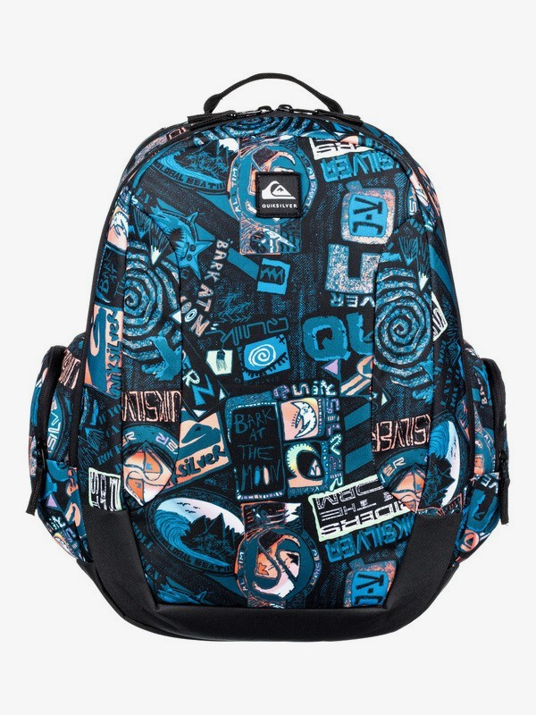 0 Schoolie 30L - Large Backpack for Kids Black EQBBP03036 Quiksilver