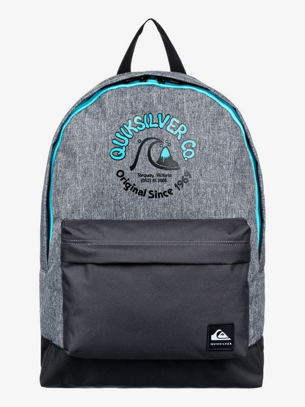 0 Everyday Poster 25L - Medium Backpack for Kids Grey EQBBP03037 Quiksilver