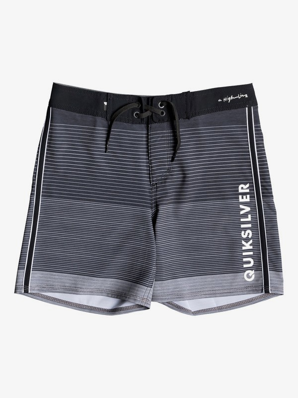 "0 Highline Massive 14"" - Board Shorts for Boys 8-16 Black EQBBS03376 Quiksilver"