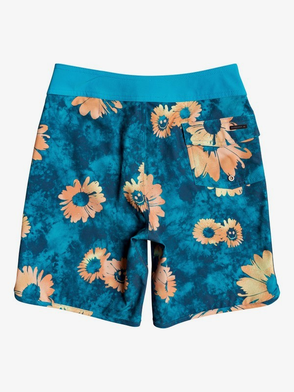 "Highline Sprayed Daisy 17"" - Board Shorts for Boys 8-16  EQBBS03448"