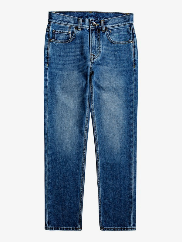Revolver Medium Blue - Straight Fit Jeans for Boys 8-16  EQBDP03158