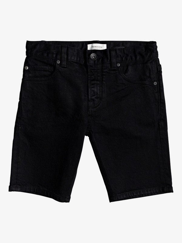 Killing Zone Black Black - Denim Shorts  EQBDS03062