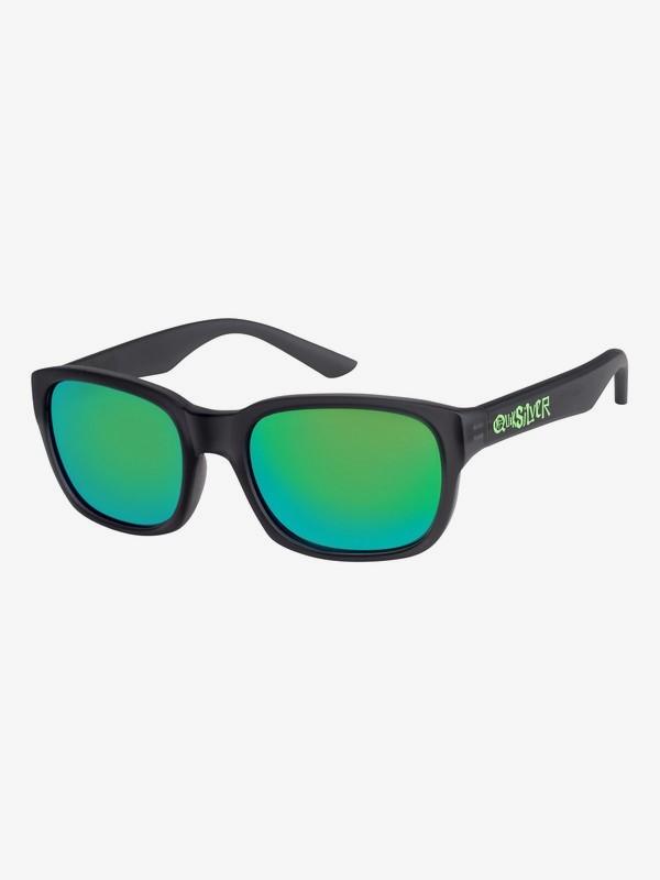 0 Salty - Gafas de Sol para Chicos 3-7 Gris EQBEY03000 Quiksilver