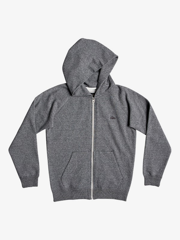 0 Everyday - Zip-Up Hoodie Black EQBFT03472 Quiksilver