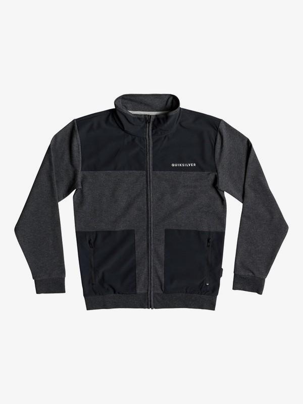 Bun Bury - Zip-Up Mock Neck Sweatshirt for Boys 8-16 EQBFT03502