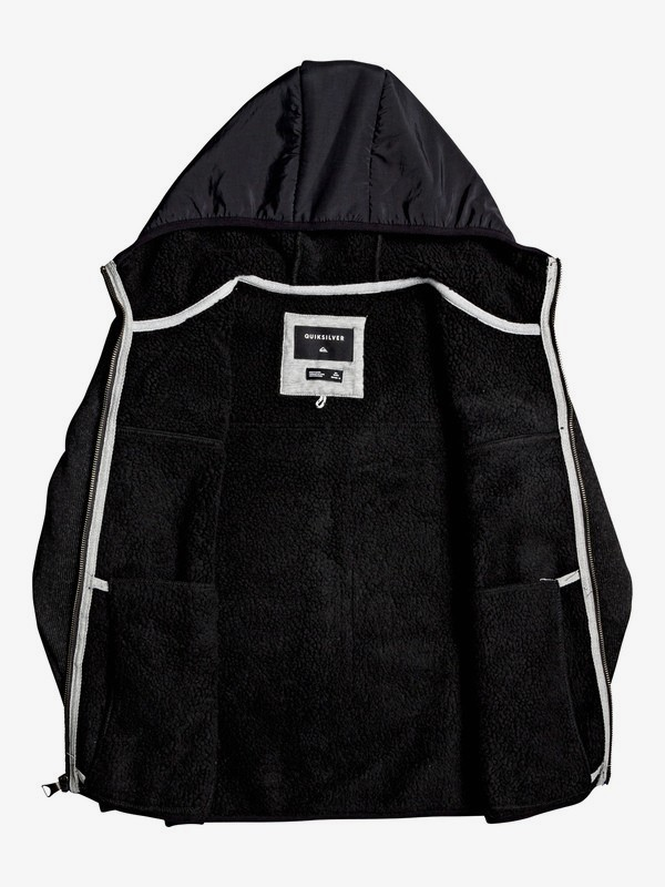 Keller Mix - Hooded Zip-Up Fleece for Boys 8-16  EQBFT03544