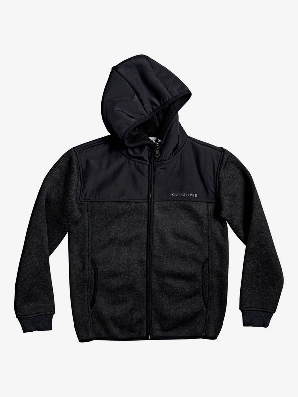 Keller Mix - Hooded Zip-Up Fleece for Boys 8-16  EQBFT03544
