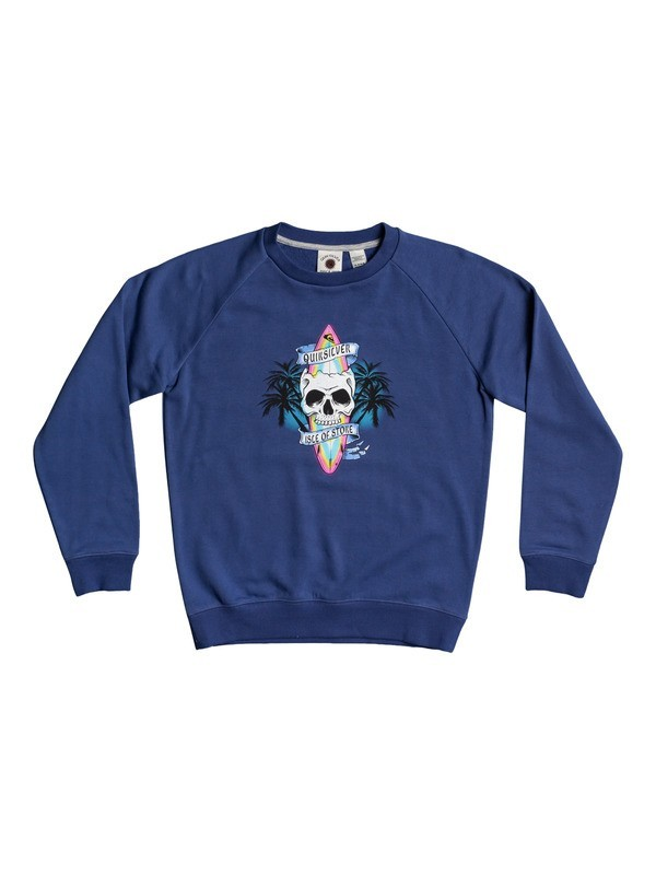 Night Rock - Organic Sweatshirt for Boys 8-16  EQBFT03676