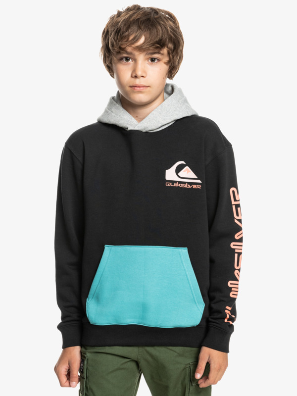 Omni Logo Block - Hoodie for Boys  EQBFT03735