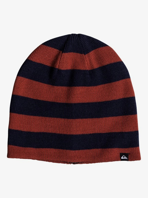 0 Quiksilver - Reversible Beanie for Boys 8-16 Blue EQBHA03040 Quiksilver