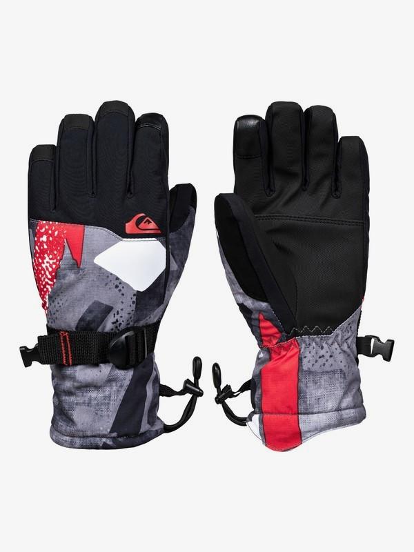 0 Mission - Snowboard/Ski Gloves for Boys 8-16 Orange EQBHN03026 Quiksilver
