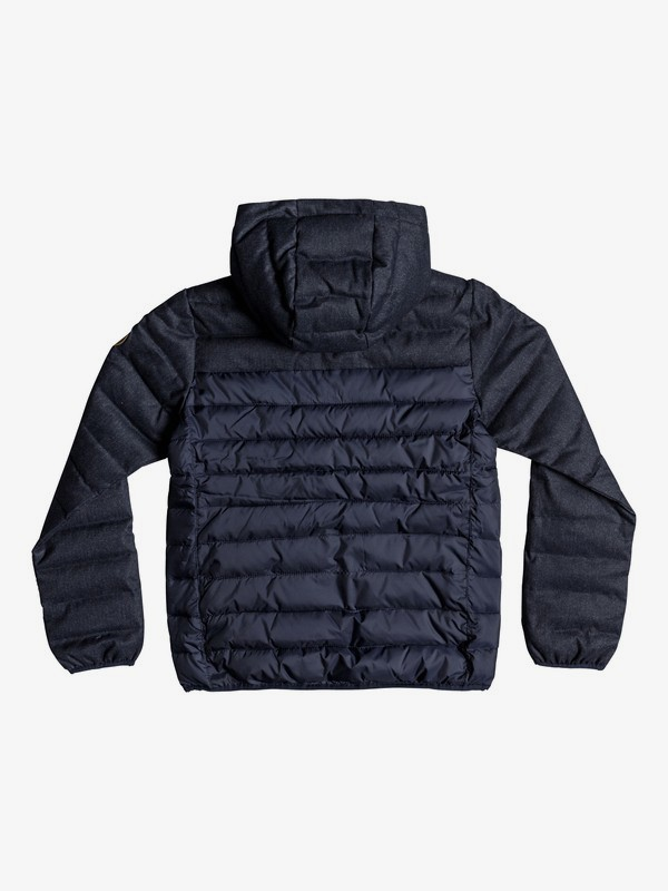 Scaly Mix - Water-Resistant Hooded Insulator Jacket for Boys 8-16  EQBJK03156