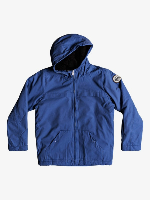 Wanna - Water-Resistant Hooded Parka for Boys 8-16  EQBJK03158