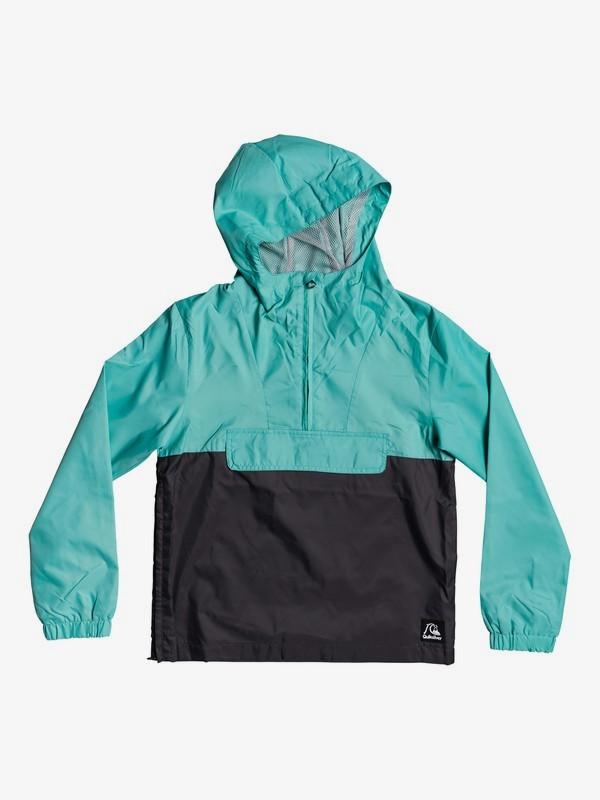 Lazy Left - Hooded Half-Zip Anorak  EQBJK03193