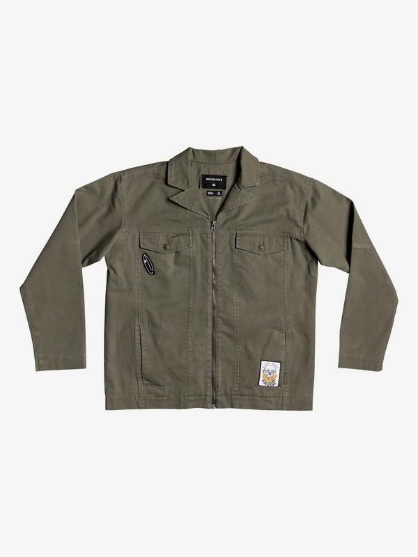 Curio Shizu - Drop Shoulder Zip-Up Jacket  EQBJK03195