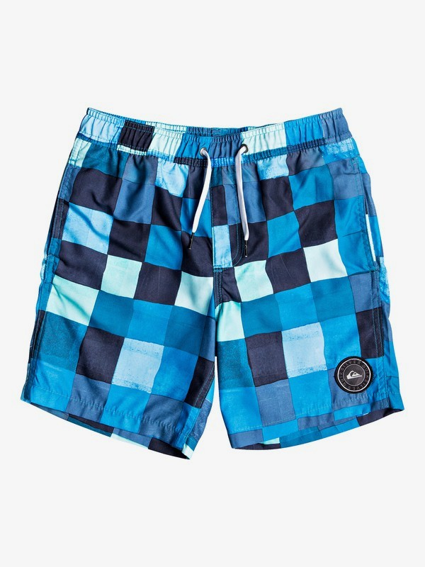 "Resin Check 15"" - Swim Shorts for Boys 8-16  EQBJV03211"