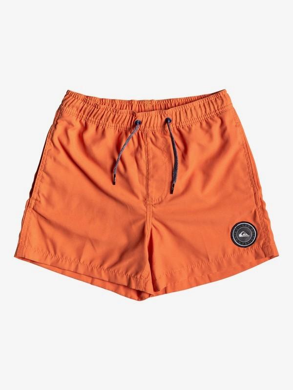 """0 Детские плавательные шорты Glitch 13"""" Оранжевый EQBJV03213 Quiksilver"""