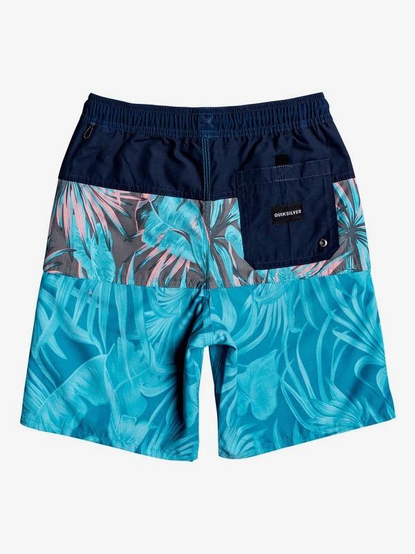 "Multiply 17"" - Swim Shorts for Boys 8-16  EQBJV03234"