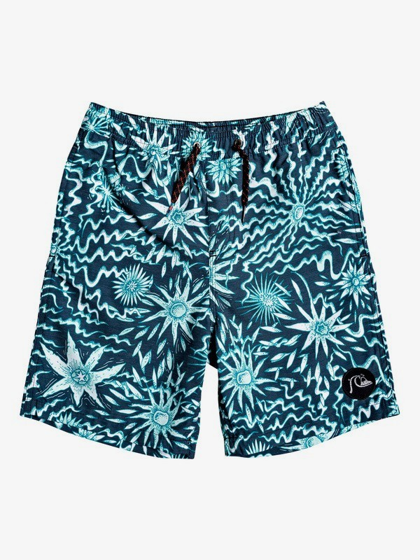 "Voodoo 17"" - Swim Shorts for Boys 8-16  EQBJV03237"