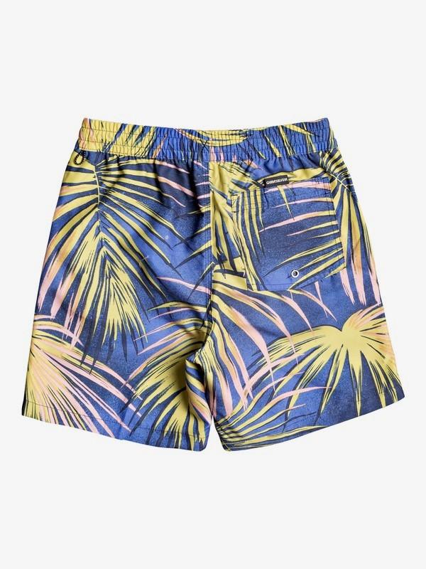 """Tropical Flow 15"""" - Swim Shorts for Boys 8-16  EQBJV03304"""