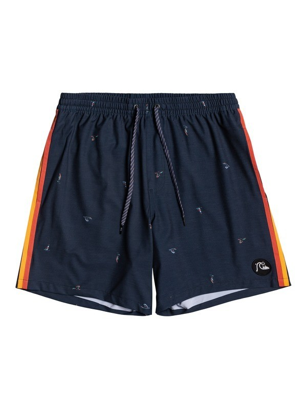 "Yacht Rock 14"" - Swim Shorts for Boys 8-16  EQBJV03343"