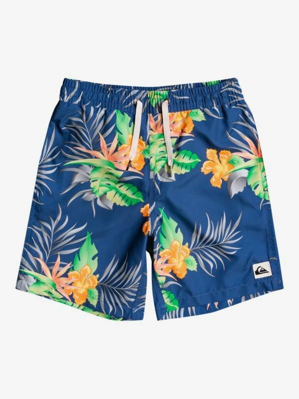 "Paradise Express 15"" - Swim Shorts for Boys 8-16  EQBJV03349"