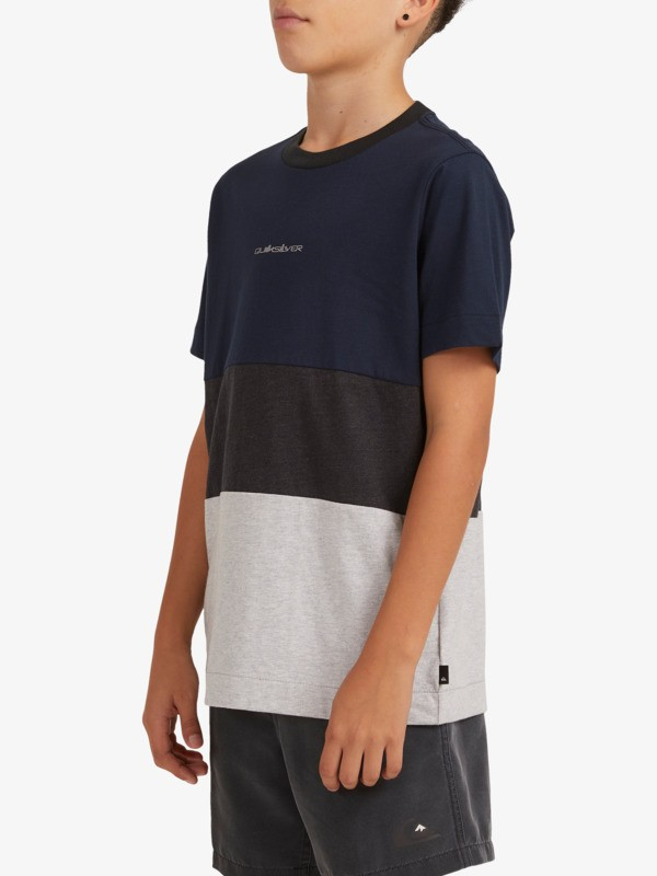 Essentials Block - Organic T-Shirt for Boys  EQBKT03296