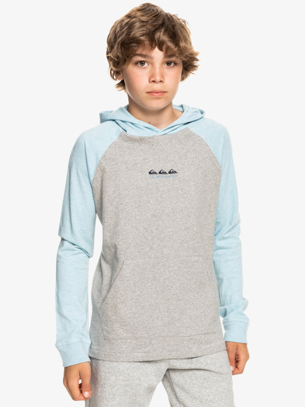 Buxton - Organic Hooded Long Sleeve T-Shirt for Boys  EQBKT03302
