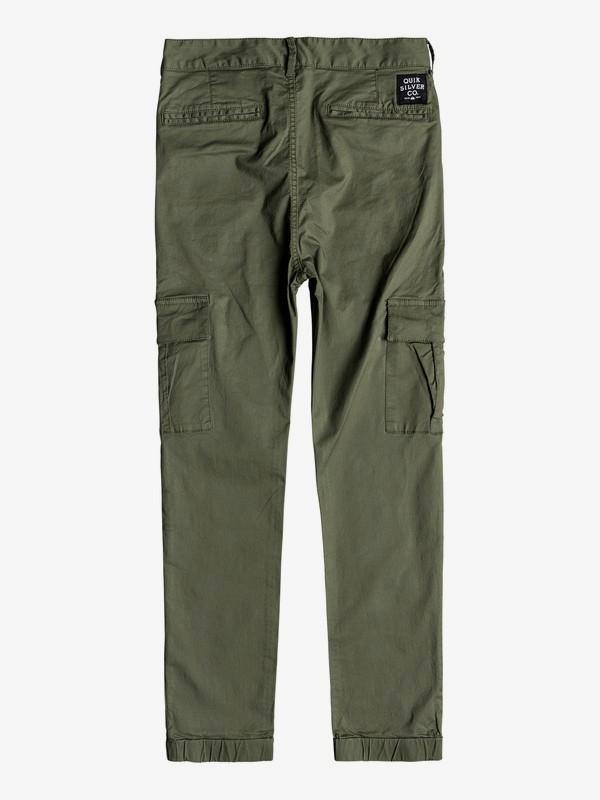 Takamatsu - Slim Fit Cargo Trousers for Boys 8-16 EQBNP03070