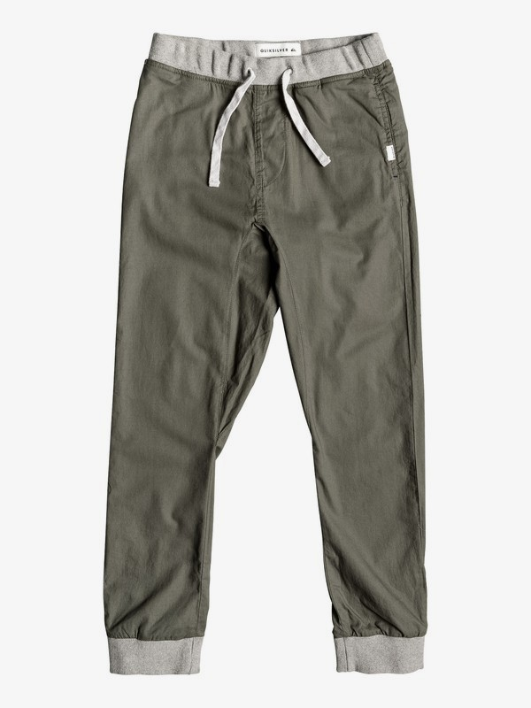 0 Seaside Coda - Joggers for Boys 8-16 Brown EQBNP03071 Quiksilver