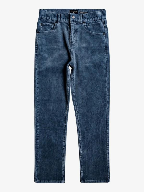 Kracker - Tapered Corduroy Trousers for Boys 8-16  EQBNP03078