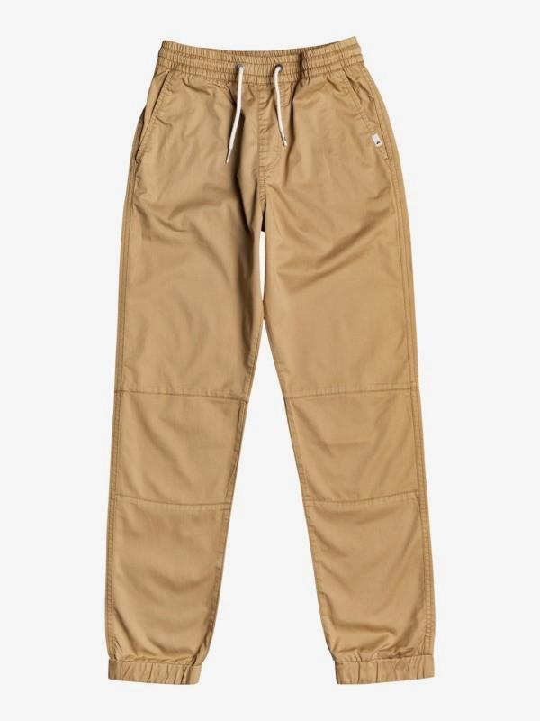 Mushy Rush - Elasticated Twill Trousers for Boys 8-16  EQBNP03098