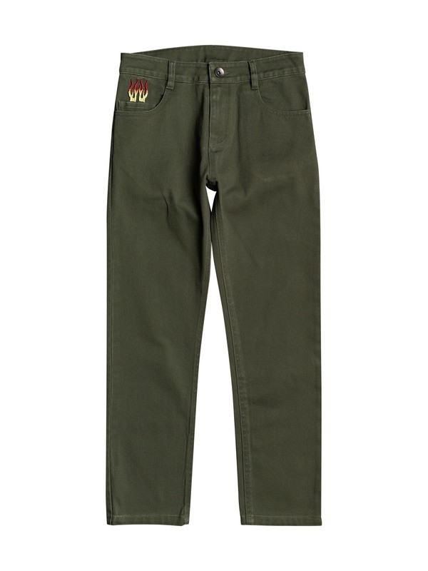 Firefly - Twill Trousers for Boys 8-16  EQBNP03103