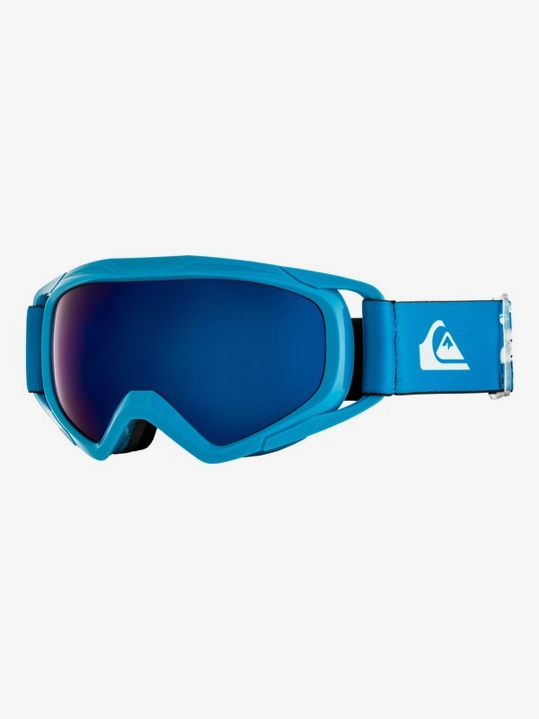 0 Eagle - Ski/Snowboard Goggles for Boys 8-16 Blue EQBTG03007 Quiksilver