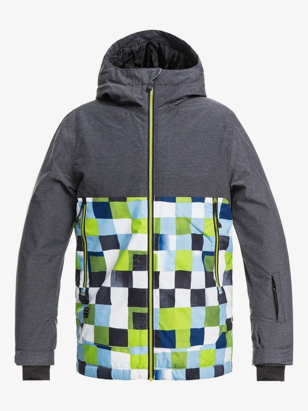 0 Sierra - Snow Jacket for Boys 8-16 Green EQBTJ03076 Quiksilver