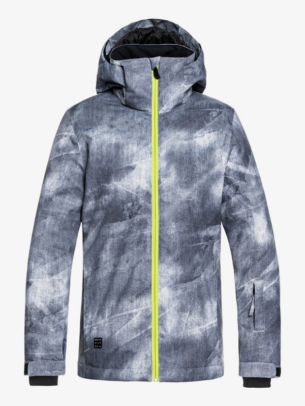 0 Mission - Snow Jacket for Boys 8-16 Black EQBTJ03079 Quiksilver