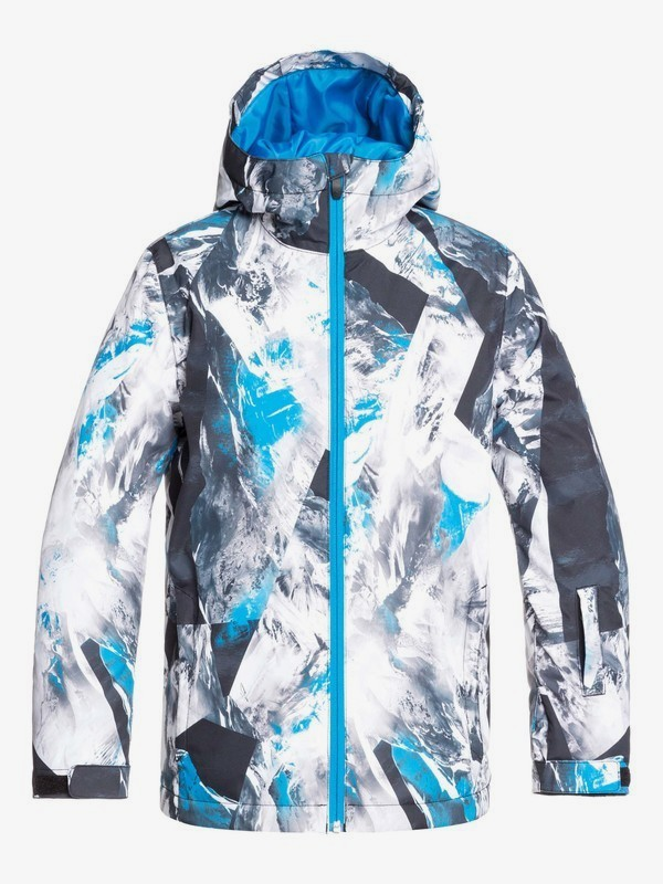 0 Mission - Snow Jacket for Boys 8-16 Blue EQBTJ03098 Quiksilver