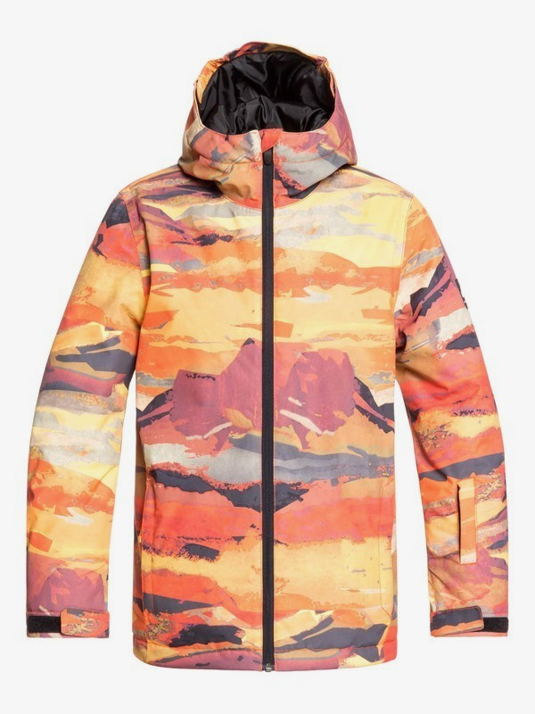0 Mission - Snow Jacket for Boys 8-16 Red EQBTJ03098 Quiksilver