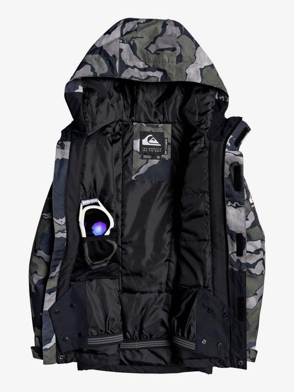 Mission Block - Snow Jacket for Boys 8-16  EQBTJ03101