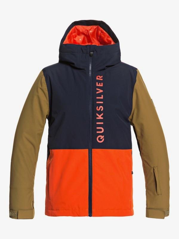 Side Hit - Snow Jacket for Boys 8-16  EQBTJ03134