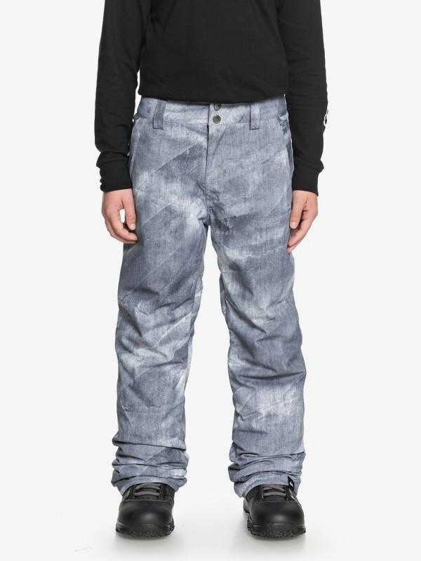 0 Estate - Pantalones Para Nieve para Chicos 8-16 Negro EQBTP03018 Quiksilver