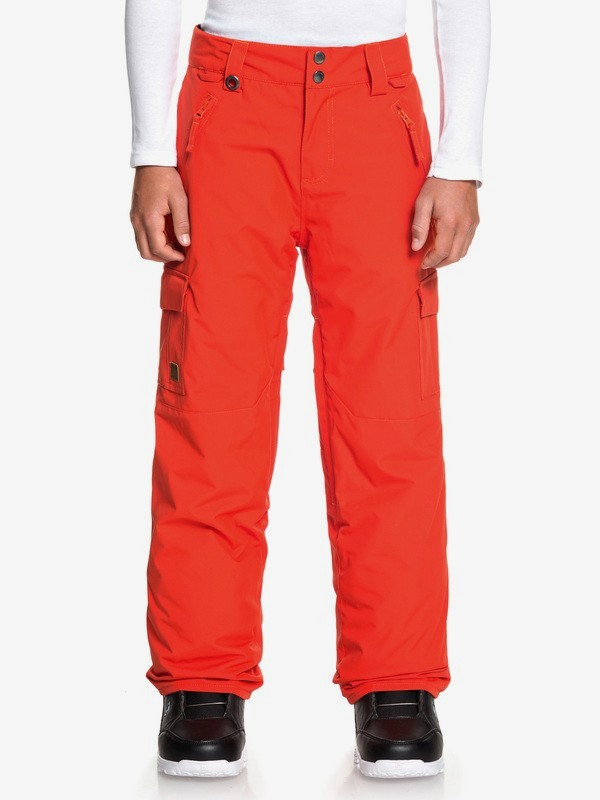 0 Porter - Snow Pants for Boys 8-16 Orange EQBTP03024 Quiksilver