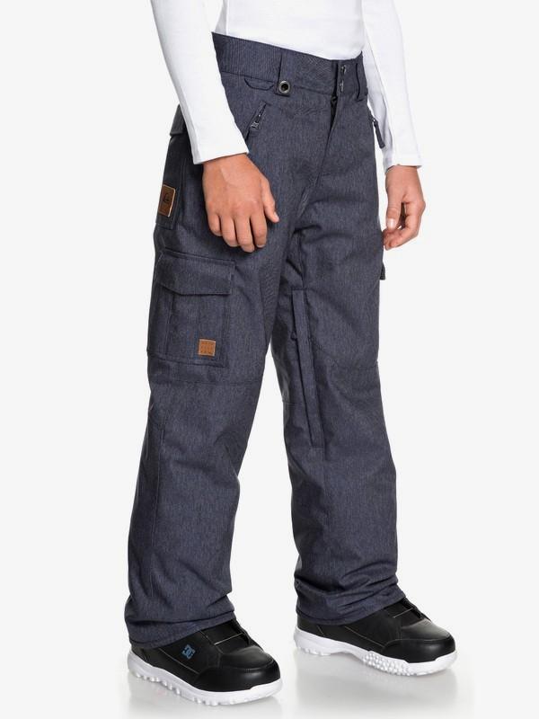 Porter Denim - Denim Snow Pants for Boys 8-16  EQBTP03028