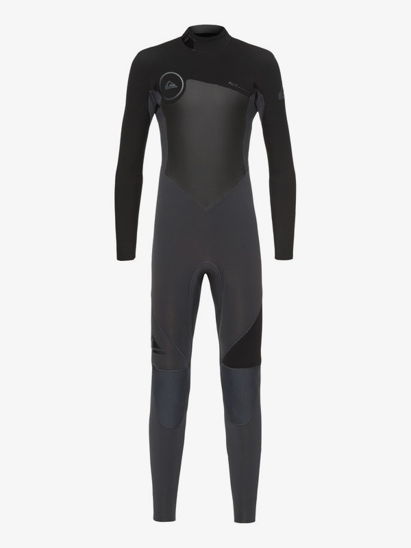 0 3/2mm Syncro Series - Back Zip GBS Wetsuit for Boys 8-16 Black EQBW103023 Quiksilver