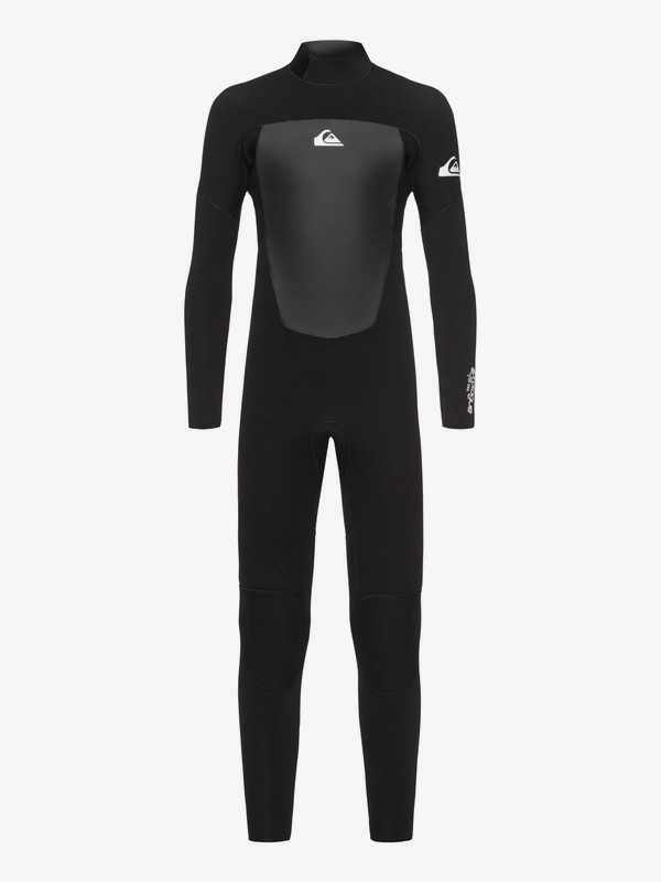 0 4/3mm Prologue - Back Zip Wetsuit for Boys 8-16 Black EQBW103038 Quiksilver