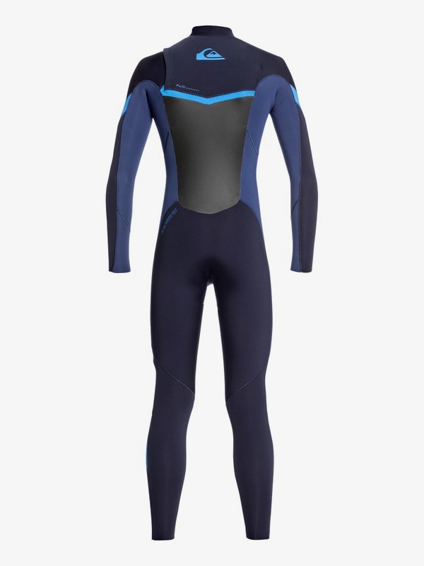 3/2mm Syncro - Chest Zip Wetsuit for Boys 8-16  EQBW103051