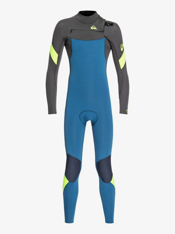 4/3mm Syncro - Chest Zip Wetsuit for Boys 8-16 EQBW103053